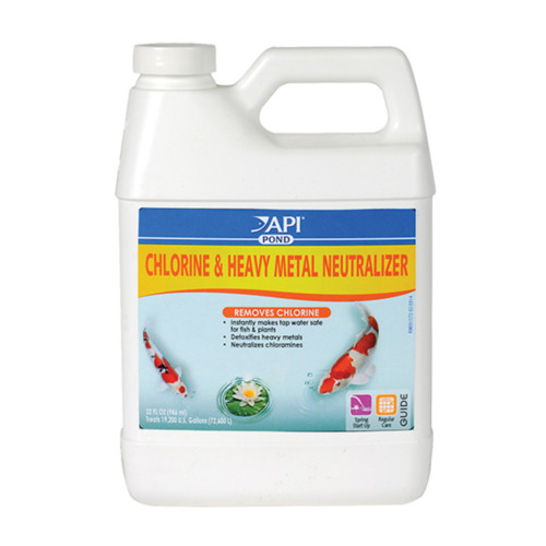 Chlorine & Heavy Metal Neutralizer | Sacramento Pond Supplies